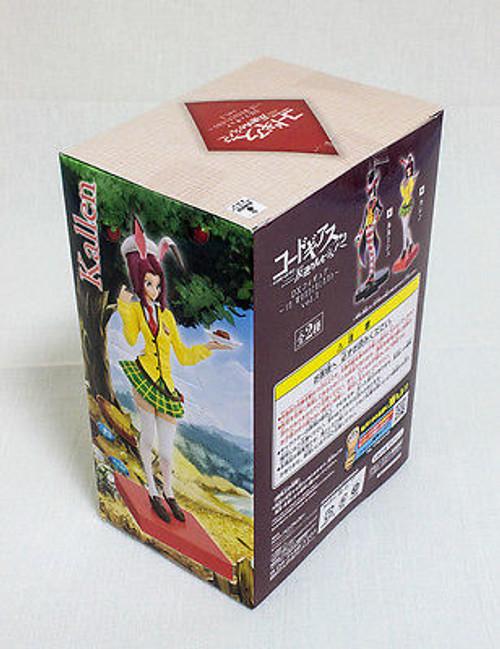 Code Geass R2 Kallen DX Figure In Wonderland vol.1 Banpresto JAPAN
