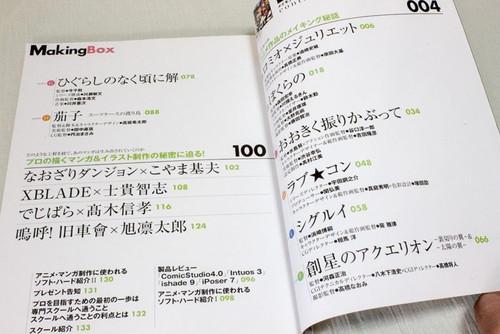 Making Box Magazine Vol.01 Production Site of Japanese Anime Manga Book JAPAN