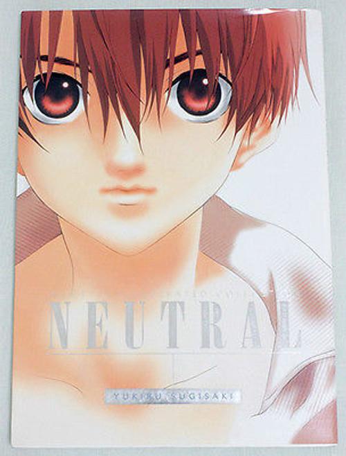 Yukiru Sugisaki Illustration Collection NEUTRAL Art Book JAPAN ANIME