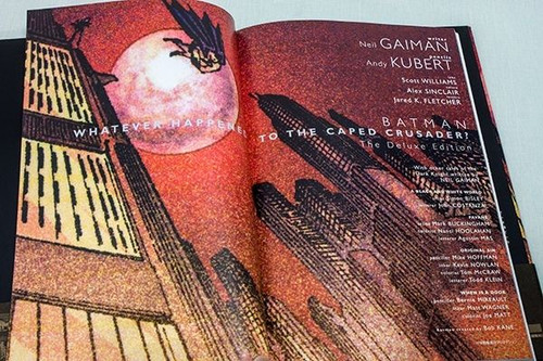 BATMAN Whatever Happnened to the Caped Crusader? Japanese DC Comics Neil Gaiman