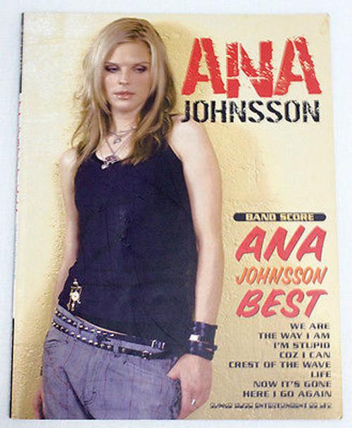 ANA JOHNSSON BEST  BAND SCORE GUITAR&BASS TAB JAPAN