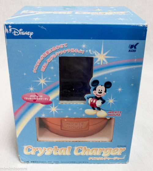 Disney Mickey Mouse Crystal Charger Toy JAPAN ANIME