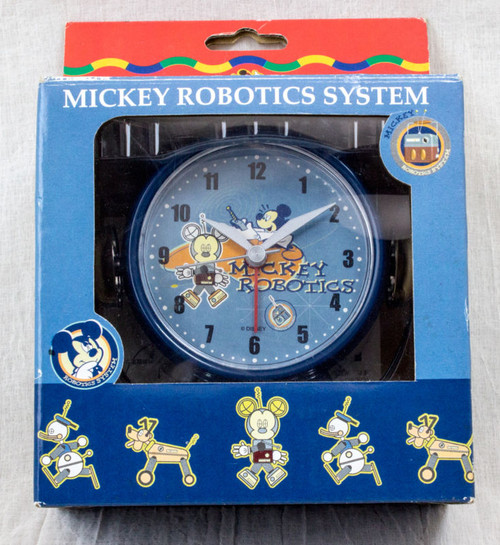 Disney Mickey Robotics System Alarm Clock 2001 Time Concepts Mickey Mouse