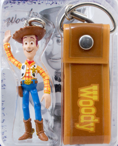 Disney Pixar Toy Story Woody Figure Mascot Keychain RUN'A JAPAN