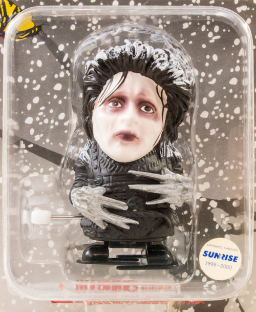 SCISSORHANDS Edward Johnny Depp Wind-Up Figure Snow Ver. Medicom Toy JAPAN