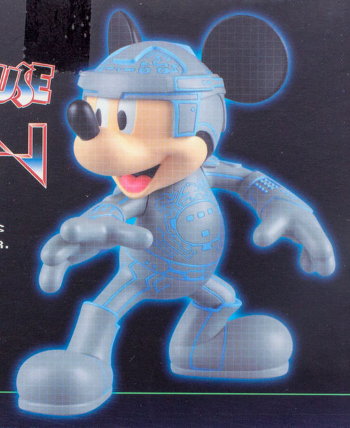 Disney Mickey Mouse TRON Ver. VCD Vinyl Collectible Dolls Figure Medicom JAPAN