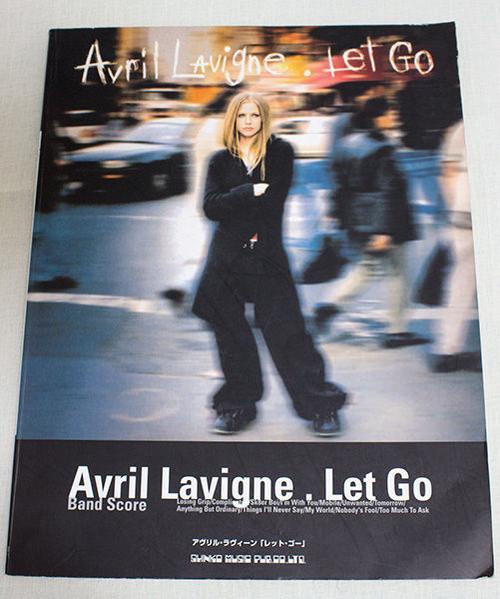 Avril Lavigne Let Go Japan Band Score Guitar$Bass TAB /Ak8et Boi/Complicated