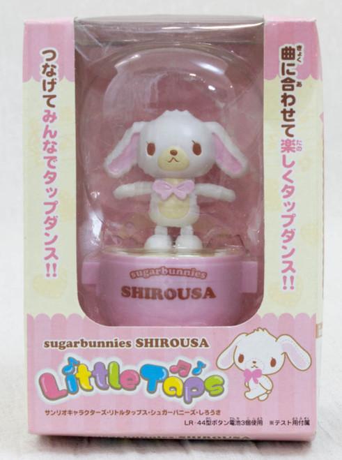 Sanrio Characters Shirousa Little Taps Sound Toy Figure JAPAN SUGAR BUNNIES