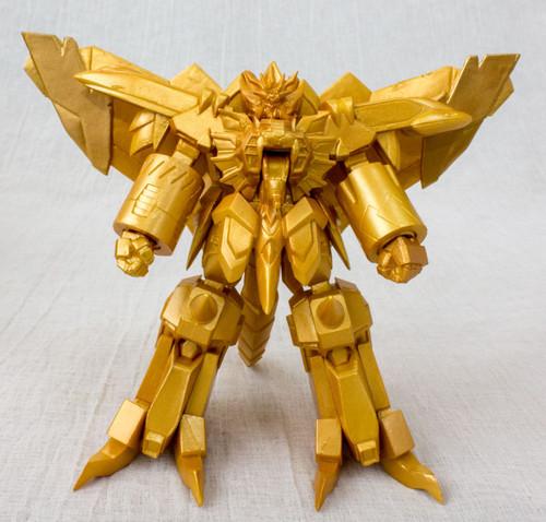 Genesic Gaogaigar Final Display Model Figure Gold Color JAPAN ANIME MANGA