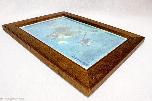 """My Neighbor Totoro Puzzle Pre-assembled and Framed 12"""" Ghibli JAPAN ANIME MANGA"""