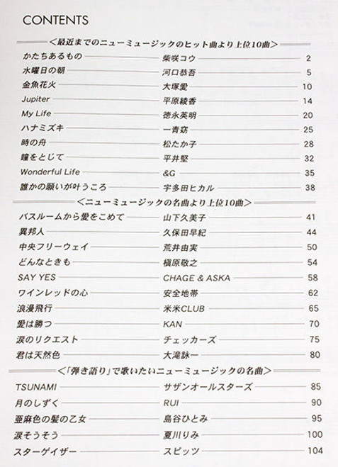 Japanese New Music Piano Solo Sheet Score Book 20 Songs JAPAN
