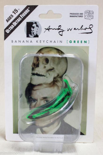 Andy Warhol Banana Keychain Green Ver. Ultra Detail Figure Medicom Toy JAPAN
