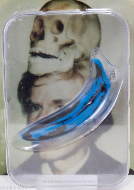Andy Warhol Banana Keychain Blue Ver. Ultra Detail Figure Medicom Toy JAPAN