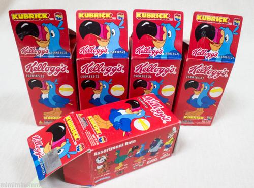 Set of 5 Kellogg's Kubrick Series 2 Medicom Toy JAPAN FIGURE