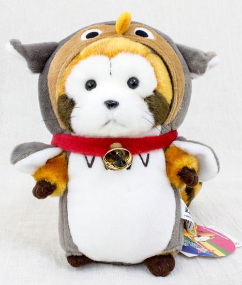Rascal the Raccoon Cosplay Owl Hokkaido Limited Plush Doll Figure JAPAN ANIME
