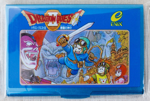 Dragon Quest 2 Jacket Cover Type Business Card Case JAPAN GAME AKIRA TORIYAMA