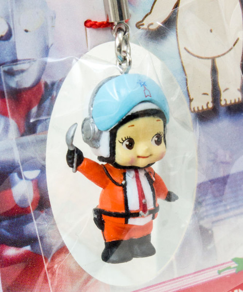 Ultraman Hayata Rose O'neill Kewpie Kewsion Strap JAPAN ANIME