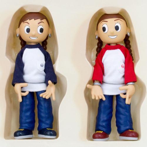 PUFFY Yumi&Ami Collectible Dolls Figure Set Medicom Toy JAPAN J-POP