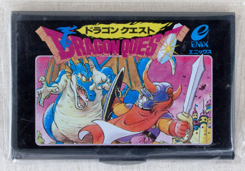 Dragon Quest 1 Jacket Cover Type Business Card Case JAPAN GAME AKIRA TORIYAMA