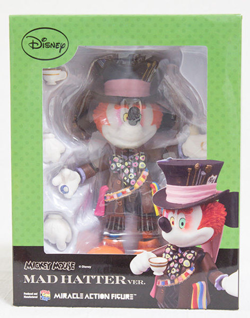 Disney Mickey Mouse Mad Hatter Miracle Action Figure  Medicom JAPAN ANIME