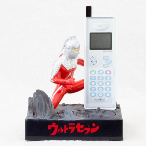 Ultraman 7 Seven Figure Voice Sound Mobile Stand Banpresto JAPAN ANIME