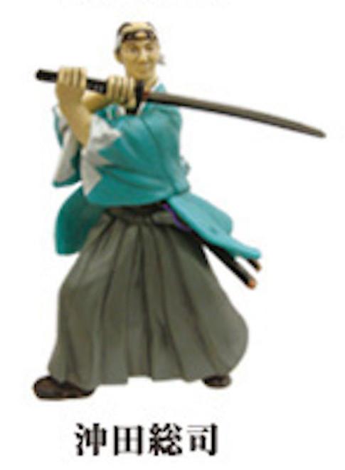Japan History Bakumatsu Ishin Character Figure Okita Soushi 1/20 Scale