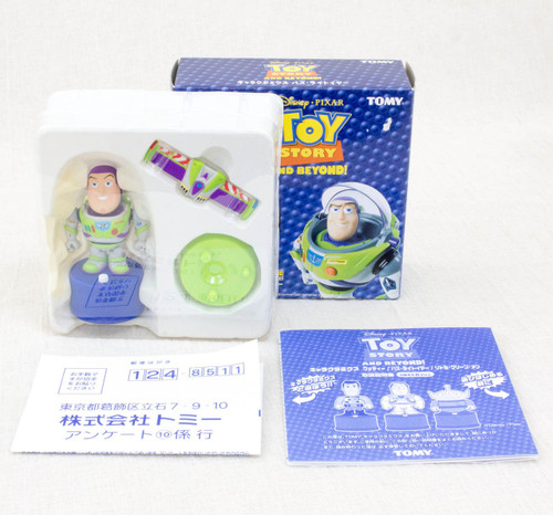Toy Story Buzz Lightyear Dancing Figure Disney Pixar Charactermix Tomy JAPAN