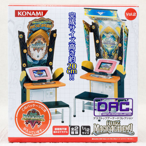 Desktop Arcade Collection Quiz Magic Academy V Miniature Figure Konami
