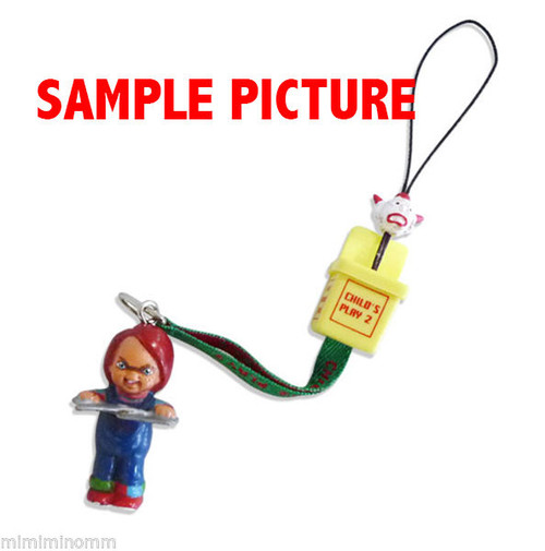 Child's Play 2 Chucky Mobile Strap Mike Company JAPAN