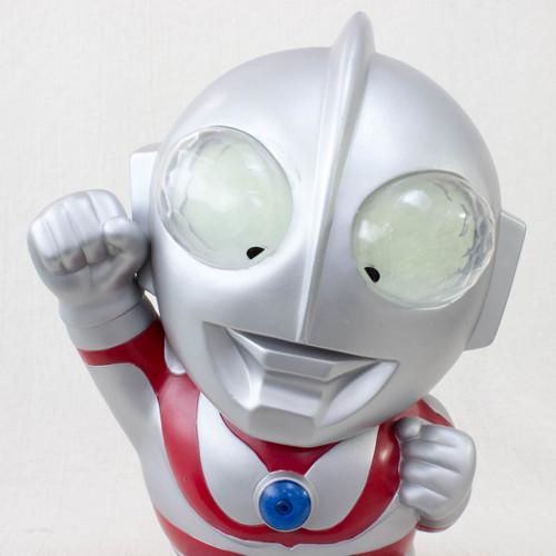 "Ultraman 13"" Big Size Figure Voice Sound Coin Bank JAPAN ANIME TOKUSATSU"