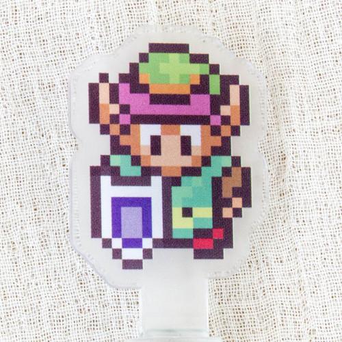 Legend of Zelda Historical 3DS Chara Touch Pen JAPAN FAMICOM NES NINTENDO 2