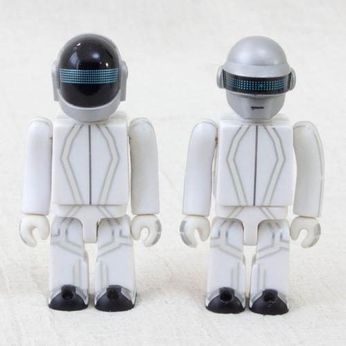 Rare! TRON Legacy Daft Punk Kubrick 100% Set Medicom Figure JAPAN
