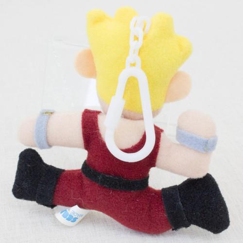 """Virtua Fighter 2 Jacky Bryant 3.5"""" Mini Plush Doll SEGA 1995 JAPAN GAME FIGURE"""