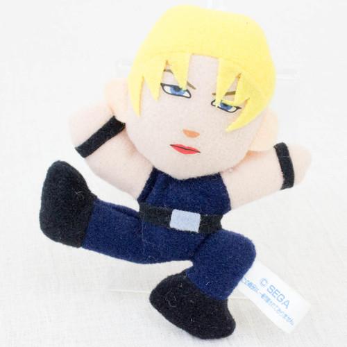 """Virtua Fighter 2 Sarah Bryant 3.5"""" Mini Plush Doll SEGA 1995 JAPAN GAME FIGURE"""
