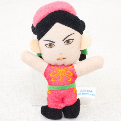 """Virtua Fighter 2 Pai Chan 3.5"""" Mini Plush Doll SEGA 1995 JAPAN GAME FIGURE"""