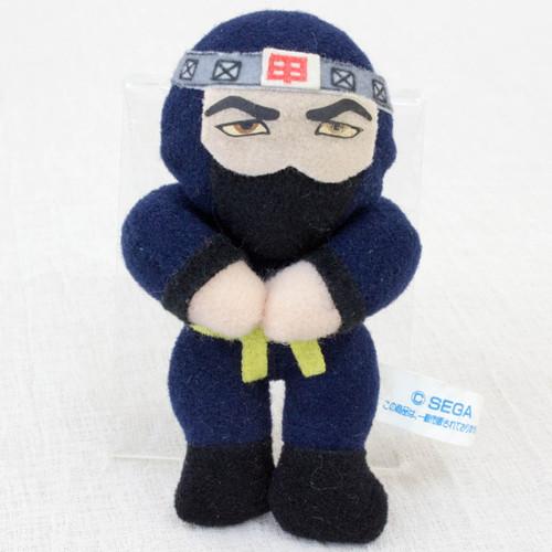 """Virtua Fighter 2 Kagemaru 3.5"""" Mini Plush Doll SEGA 1995 JAPAN GAME FIGURE"""