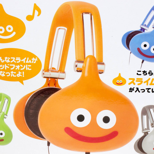 Dragon Quest Slime Beth Headphone Square Enix JAPAN GAME WARRIOR