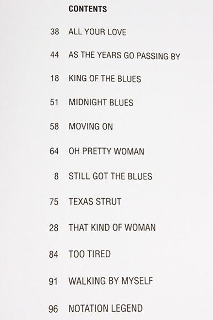 Gary Moore Still Got The Blues Guitar TAB Score Sheet Book