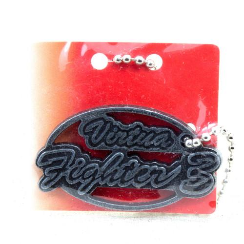 SEGA Logo Metal Plate Ball Chain Virtua Fighter 3 Silver JAPAN GAME