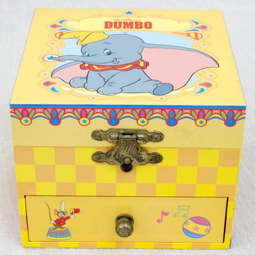 RARE! Disney Dumbo Music Box Accessories Case Song Casey Jr. ANIME