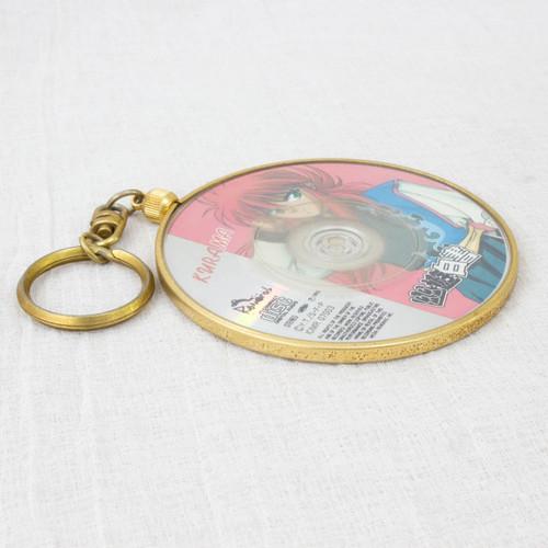 Yu Yu Hakusho  KURAMA 8cm CD Disk Key Chain JAPAN ANIME MANGA