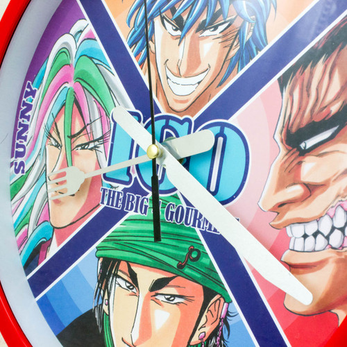 TORIKO Knife & Fork Gourmet Wall Clock Limited Shonen Jump 2011 JAPAN ANIME