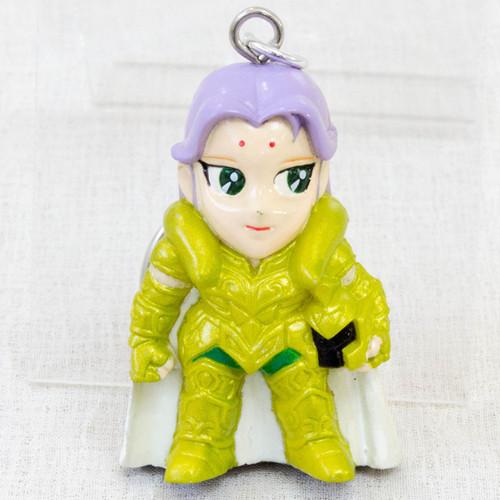 Saint Seiya Aries Mu Figure Key Chain Gold Cloth JAPAN ANIME MANGA