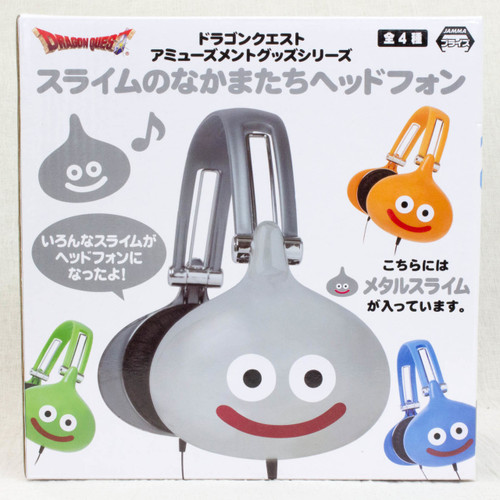 Dragon Quest Metal Slime Headphone Square Enix JAPAN GAME WARRIOR