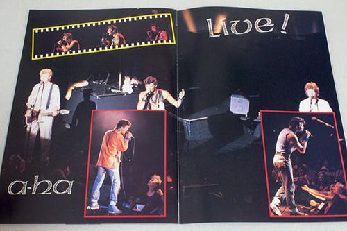 a-ha 1987 Japan Concert Tour Program Art Book