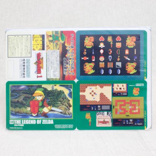 Legend of Zelda Stickers Sheet Set JAPAN FAMICOM NES NINTENDO