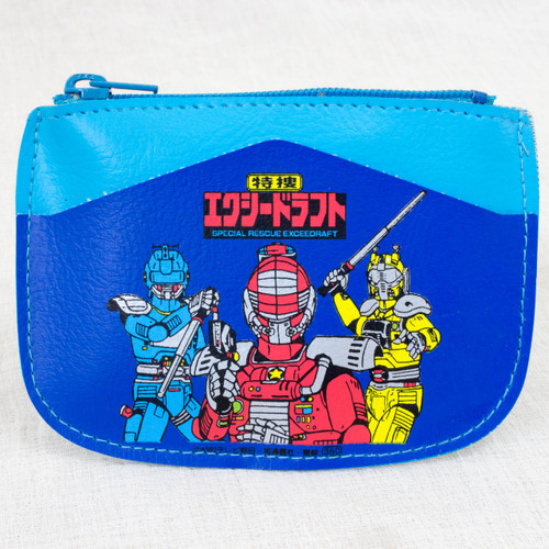 Special Rescue Exceedraft Coin Case Blue Ver. JAPAN ANIME TOKUSATSU SENTAI