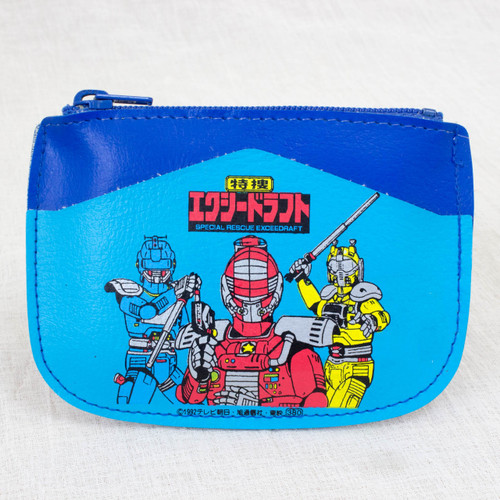 Special Rescue Exceedraft Coin Case Light Blue Ver. JAPAN ANIME TOKUSATSU SENTAI