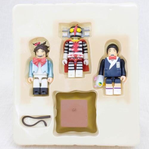 DENSENMAN Kubrick figure 3pc set Medicom Toy JAPAN TOKUSATSU