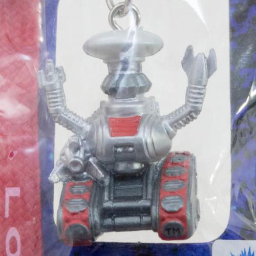 Retro RARE! LOST IN SPACE Silver Robot Figure Strap JAPAN SF MOVIE